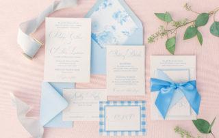 Heritage Farm Wedding Invitation of Caitlin Wilson Design Inspiration by Emery Ann Design